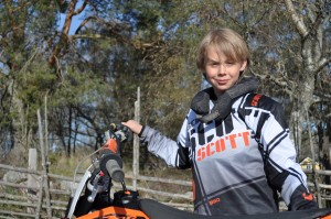 Joel Nordvall #6 KTM SX 65